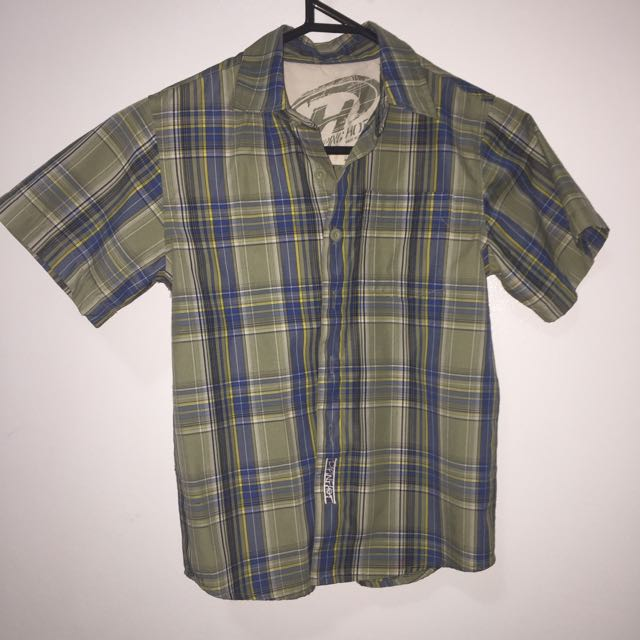 Green Checkered Shirt