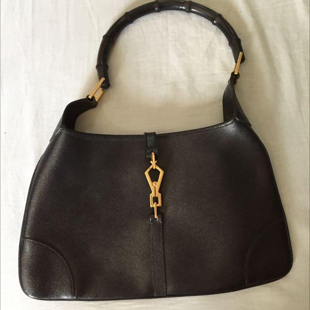 Gucci Black Hand Bag