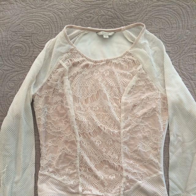 Guess Long Sleeved Shirt