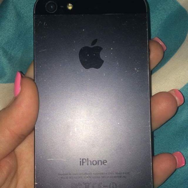 iPhone 5 16gbs