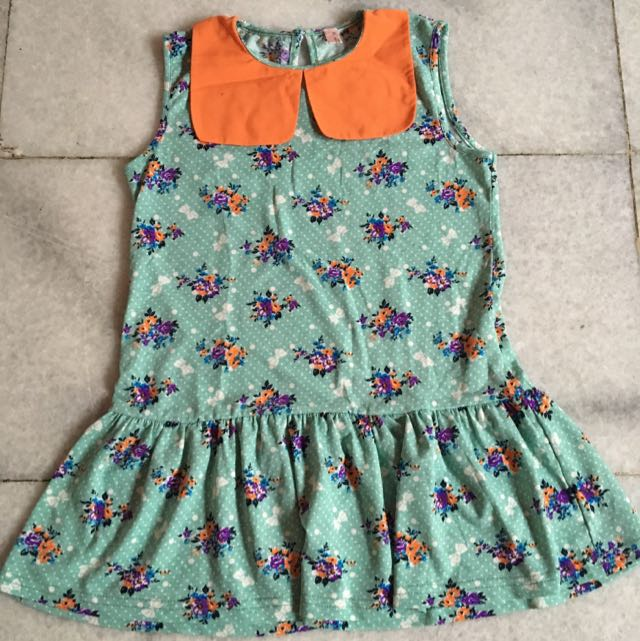 (KIDS) Flower Dress