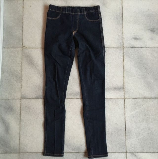 (KIDS) H&M Denim Leggings