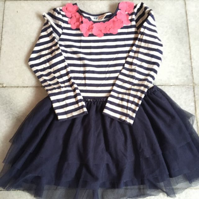 (KIDS) H&M Stripe Tutu Dress