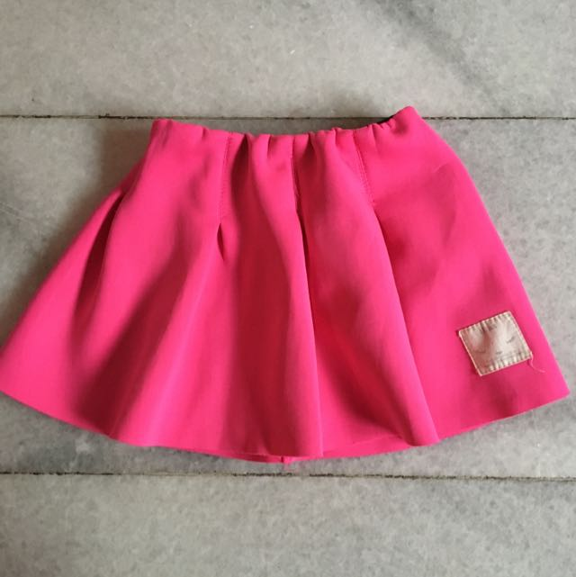 (KIDS) Pink Mini Skirt