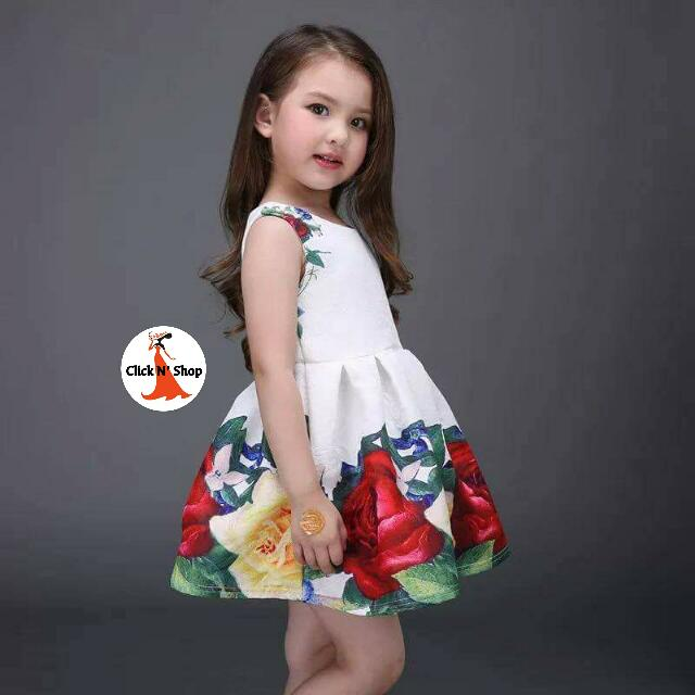 aa85b0526a16 Korean Kids Dress