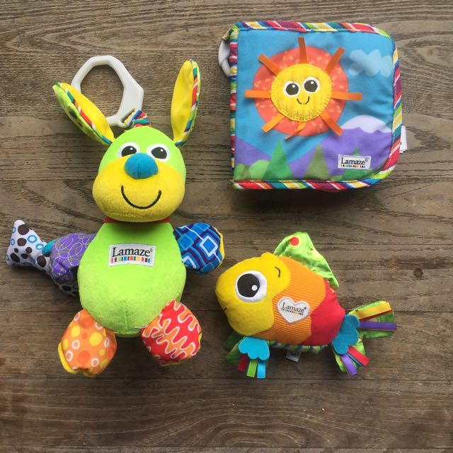 Selling Pack Of Three Lamaze Baby Toys
