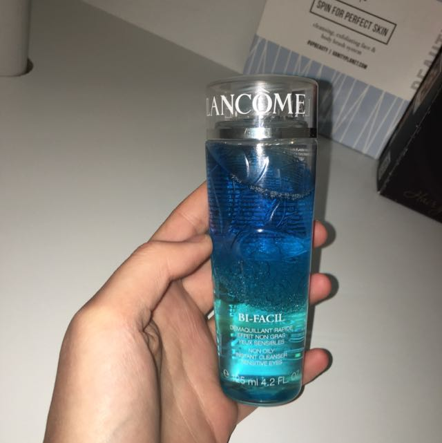 lancome makeup cleanser - NEW