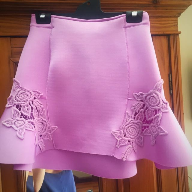 LIONESS FLUTED SKIRT