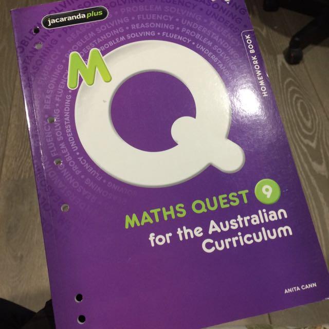 Maths Quest 9 - Homework Book