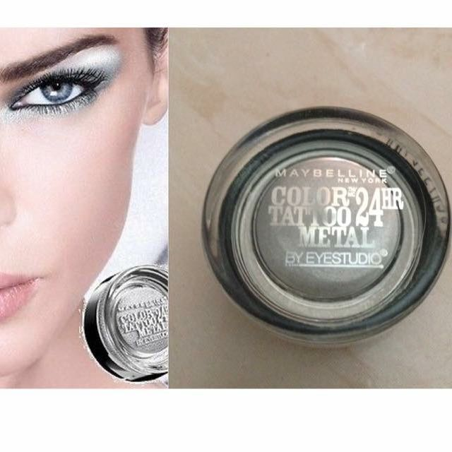 Maybelline 24hr Color Tattoo Metal Eyeshadow