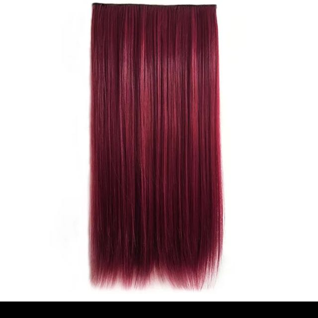 Merlot Wine Red Hair Extensions Health Beauty Hair Care On Carousell