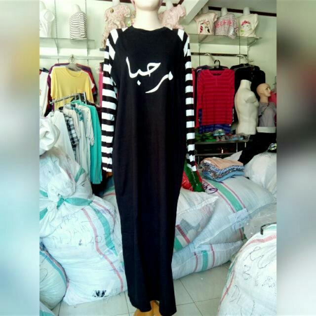 Moslem Dress (Bahan Kaos Tebal)