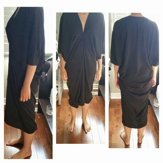 Nasty Gal Dolman Sleeve Maxi dress Size M