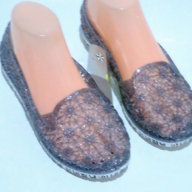 NEW!! FLATSHOES JELLY BLINK KOREAN