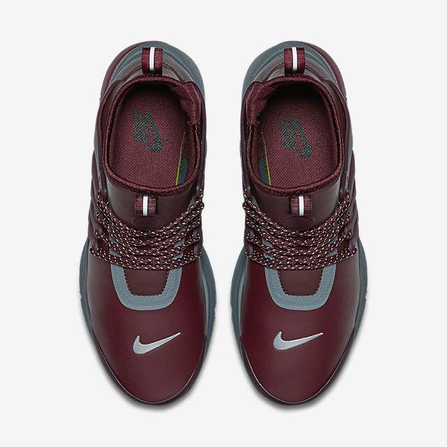 896763f7855a4 Nike Air Presto Mid Utility (Women) - Night Maroon Reflect Silver Dark Grey Night  Maroon
