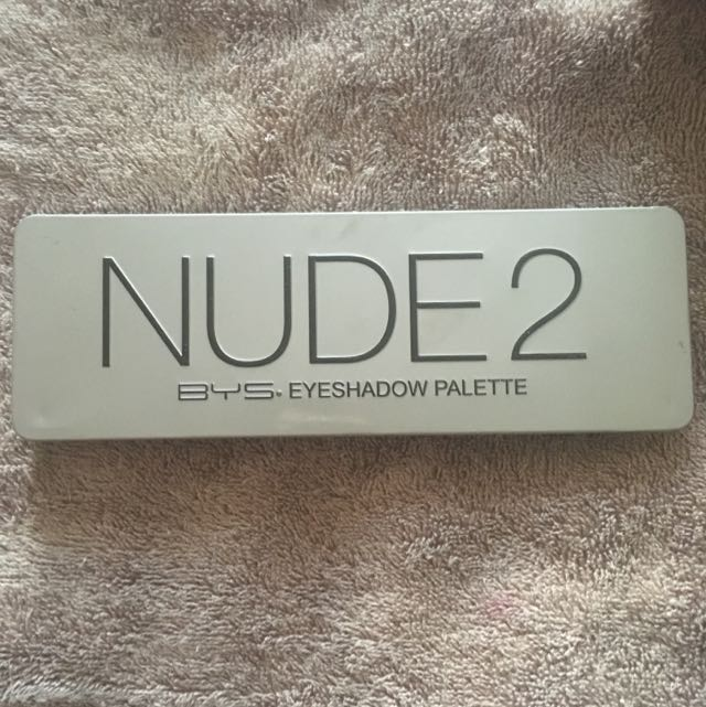 Nude 2 - BYS Eyeshadow Pallets