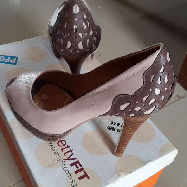 Nude Pretty Fit Shoes