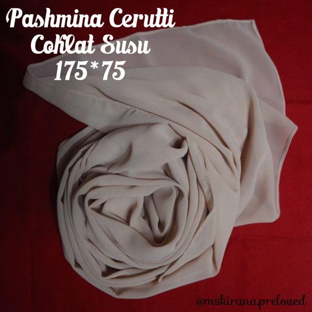 """[Preloved] Pashmina Ceruti """"Coksu"""""""