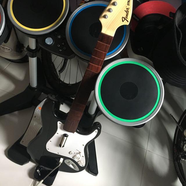 Rock Band 4 PS4 Full Set