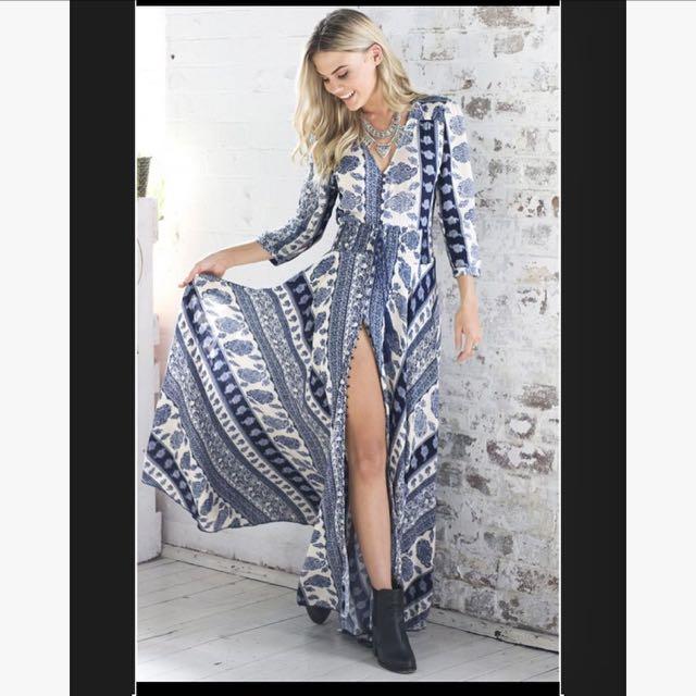 Showpo Boho Maxi Dress