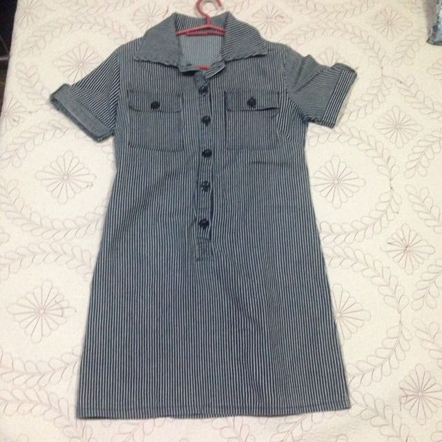 Stripes Polo Dress
