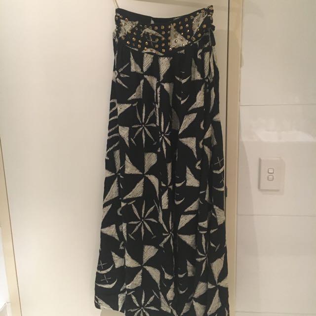 Talulah Maxi Skirt Sz 8