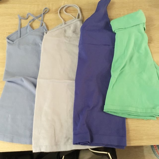 Tank Tops And One Crop Top