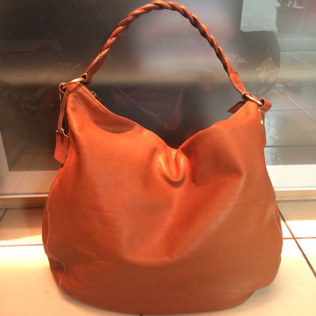 Thailand Genuine Leather Brown Bag