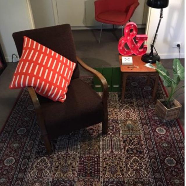 Vintage armchair - danish / retro style