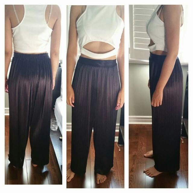 Vintage Pleated Trouser Size S