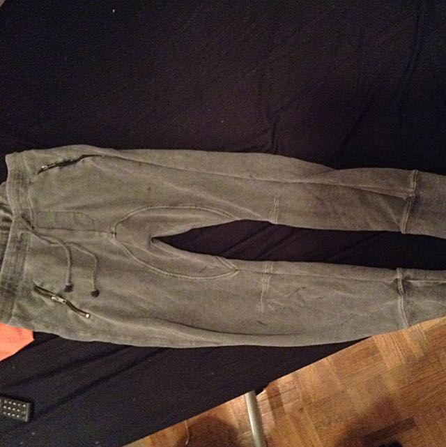 Wash Out Grey Fit Joggers