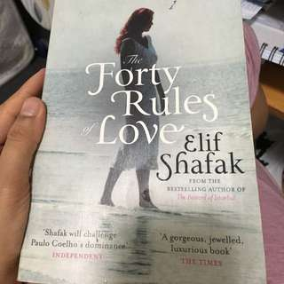 The Forty Rules Of Love  !!