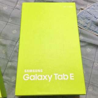 SUMSUNG Galaxy Tab E