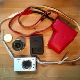 Nikon 1 J1 10.1 MP HD Digital Camera System with 10-30mm!