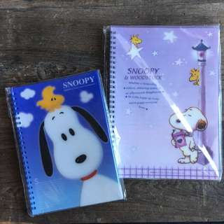 Snoopy Lined Notebooks