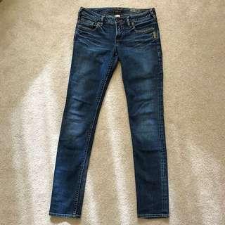 ** REDUCED ** Silver Jeans Monica Denim