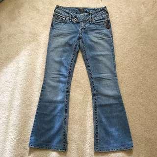 ** REDUCED ** Silver Jeans Chyna Denim