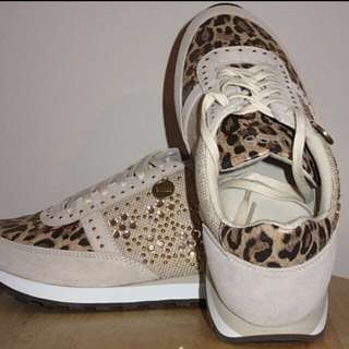 Guess Animal Printed Running Shoes