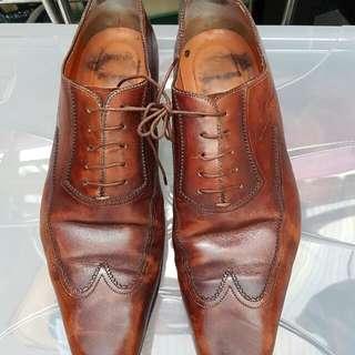 Santoni Genuine Leather Shoes