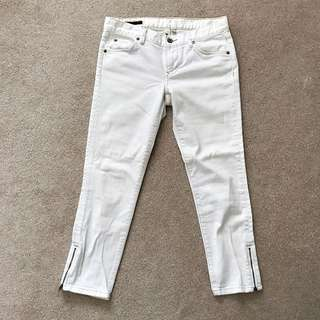 ** REDUCED ** Club Monaco Denim Capri