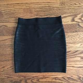 Guess Bandage Skirt Black