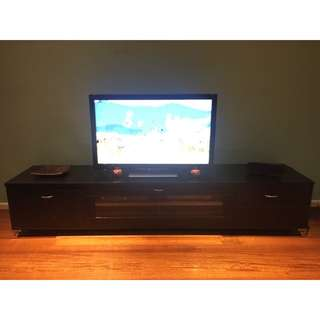 BLACK LONGLINE TV UNIT