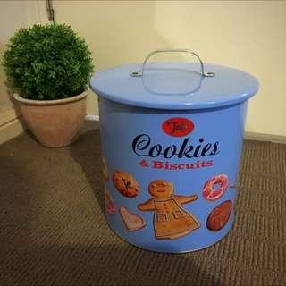 Vintage Style Cookie Tin