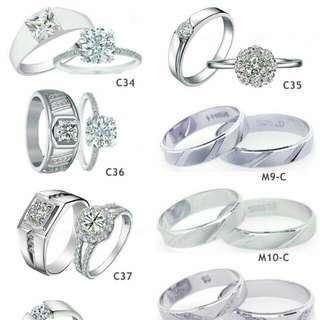 Cincin Couple Silver 925