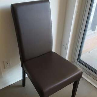 Brown Dining Chair (Reserved)
