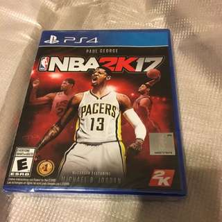 PS4 NBA 2K17 *unopened*