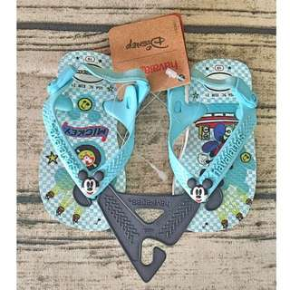 havaianas米奇藍兒童夾腳涼鞋拖鞋👶🏻