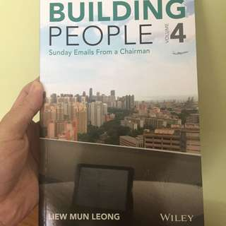 Building People Vol4 By Chairman Liew MuN Leong W his Signature!!!