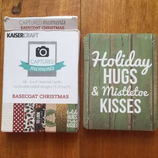 Kaiser craft Journal Cards