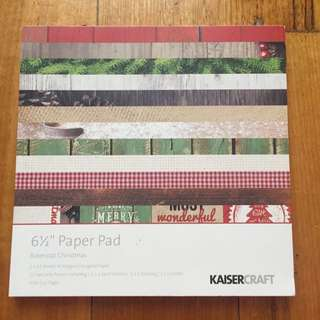 "Kaiser craft 6 1/2"" Paper Pad"
